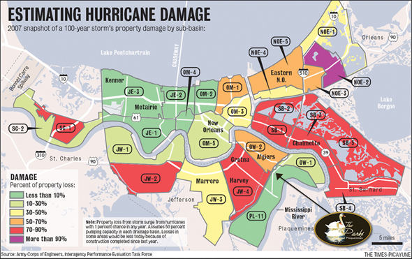 Hurricane Katrina New Orleans Map.Why Plaquemines Parish The Parks Of Plaquemines